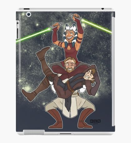 Obi Juan needs some ho iPad Case/Skin