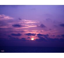 Beyond The Sunset ~ Imagination Photographic Print