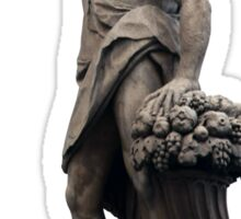 Italian Statue in Florence (isolated) Sticker