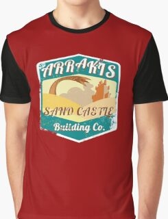 ARRAKIS SAND CASTLE BUILDING COMPANY  Graphic T-Shirt