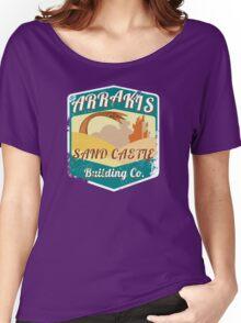 ARRAKIS SAND CASTLE BUILDING COMPANY  Women's Relaxed Fit T-Shirt