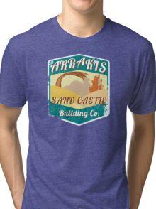 ARRAKIS SAND CASTLE BUILDING COMPANY  Tri-blend T-Shirt