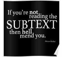 Subtext Poster