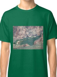 Suspension Bridge over the Colorado River Classic T-Shirt