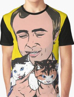 Phil Collins Kitties Graphic T-Shirt