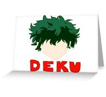 Team Deku Greeting Card