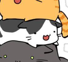 Cat Mountain Sticker