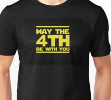 May the 4th be with you Star Wars Unisex T-Shirt