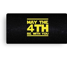 May the 4th be with you Star Wars Canvas Print