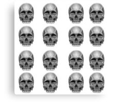Skull Pattern Canvas Print
