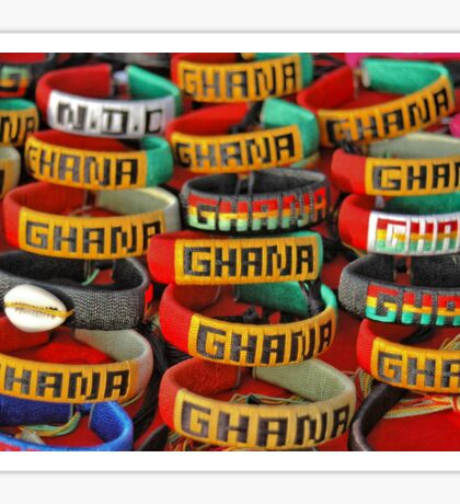 Ghana - Love Ghana, West Africa Sticker
