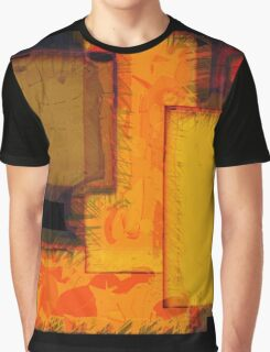 NY City Blocks Urban Abstract Art Graphic T-Shirt