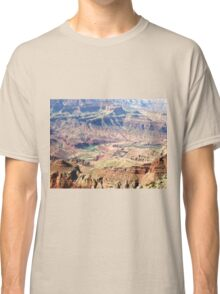 Colorado River Carving the Grand Canyon 02 Classic T-Shirt