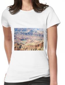 Colorado River Carving the Grand Canyon 02 Womens Fitted T-Shirt