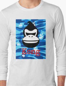 A Barrel Throwing Gorilla Long Sleeve T-Shirt