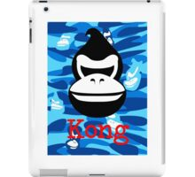 A Barrel Throwing Gorilla iPad Case/Skin