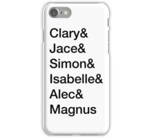 shadowhunters  iPhone Case/Skin