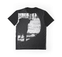 Dog silhouette Graphic T-Shirt