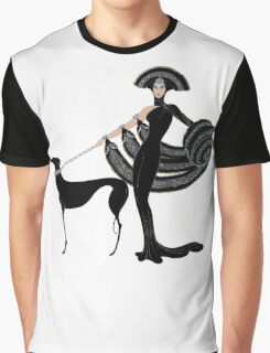 Art Deco era Haute Couture Fashion illustration Graphic T-Shirt