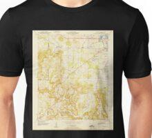 USGS TOPO Map Alabama AL Trinity 305243 1950 24000 Unisex T-Shirt