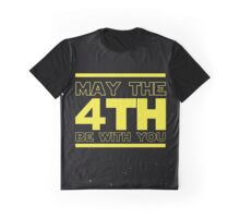 May the 4th be with you Star Wars Graphic T-Shirt