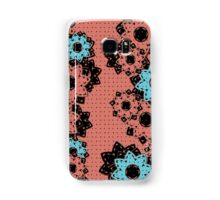 Polka Dot and Flowers Decoration Samsung Galaxy Case/Skin