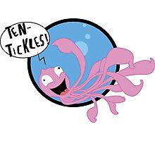 Ten-Tickles Photographic Print