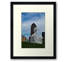 Principal Building and Nomade Framed Print