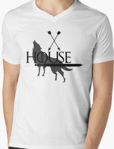 Game of Thrones - Stark Mens V-Neck T-Shirt