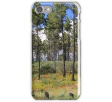 New Mexico Forest iPhone Case/Skin