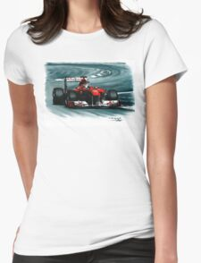 2011 Ferrari 150° Italia Womens Fitted T-Shirt
