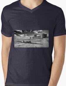 Carrickfergus Castle 3 Mens V-Neck T-Shirt