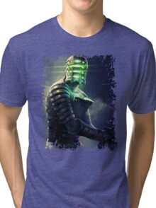 Space robot Tri-blend T-Shirt