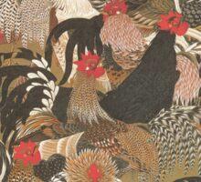 Jakuchu - Rooster Group Sticker