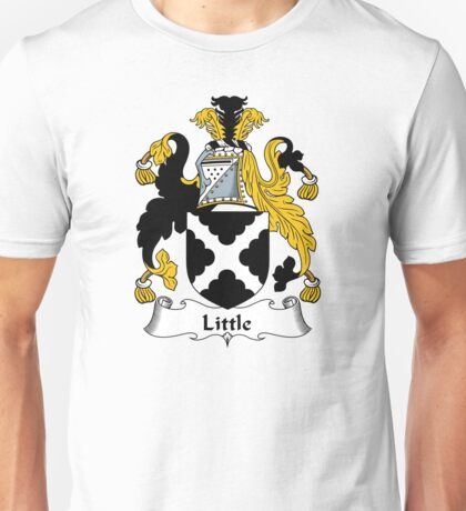 Little Coat of Arms / Little Family Crest Unisex T-Shirt