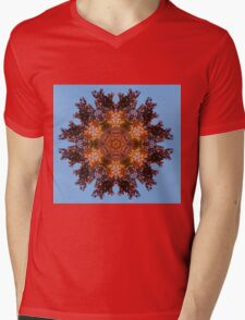 Foliage mandalas Mens V-Neck T-Shirt