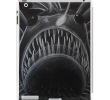 Angler Fish White Pencil Design iPad Case/Skin