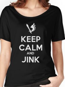 Keep Calm and Jink Women's Relaxed Fit T-Shirt