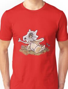 Drawlloween Cubone Unisex T-Shirt