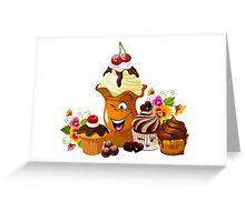 Sweet smiley Greeting Card