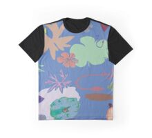 Floral Shapes Graphic T-Shirt