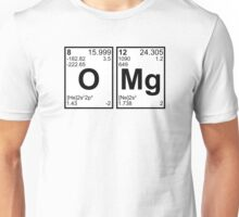 OMG Oh My God Periodic Table Elements Unisex T-Shirt