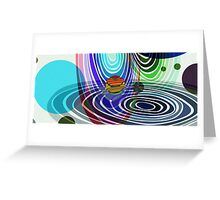 Level 5 in Vivid Greeting Card