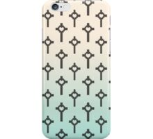 Pastel Cross Pattern iPhone Case/Skin