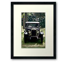 Riley automobile Framed Print