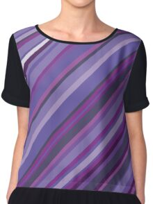 Purple rain Chiffon Top