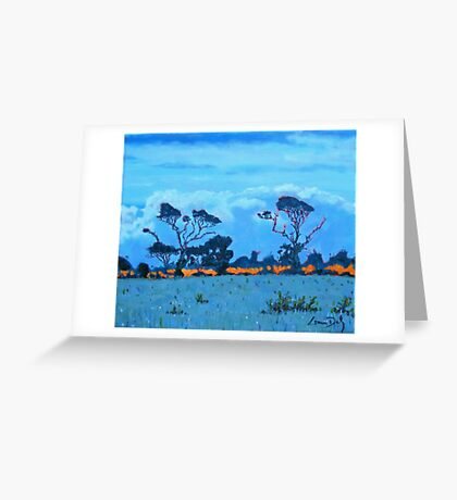 West Cork Trees, Ireland Greeting Card