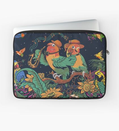 loving bird and friend Laptop Sleeve