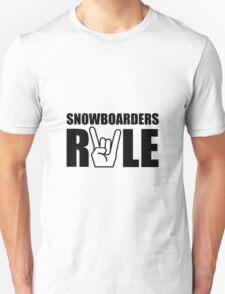 Snowboarders Rule T-Shirt