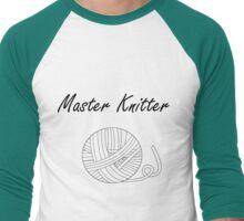 Master Knitter Men's Baseball ¾ T-Shirt